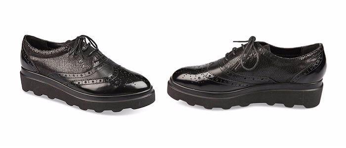 zapato Derby negro