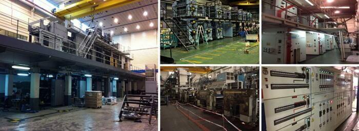 desmontaje de maquinaria industrial