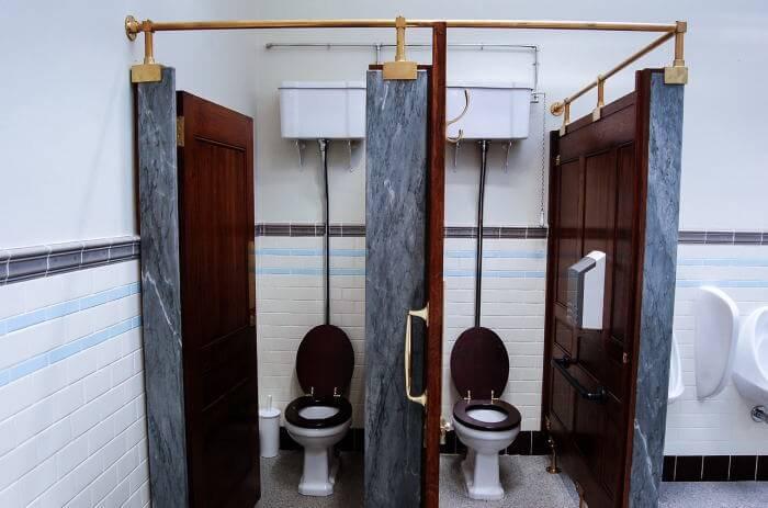 limpieza y desinfección de baños